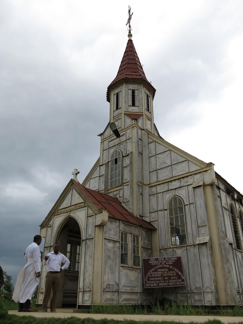 Cathédrale Notre-Dame-de-l'Assomption, Boma, Bas-Congo
