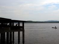 """Boma hat einen der bedeutensten Häfen des Landes am Kongo-Fluss (""""la fleuve"""") errichtet, der nur 120 Kilometer weiter ins Meer mündet"""