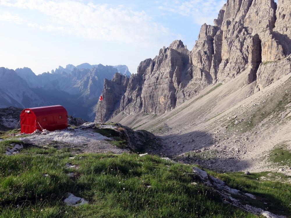 Bivacco Antonio Renzo Marchi-Granzotto, 2170 Meter